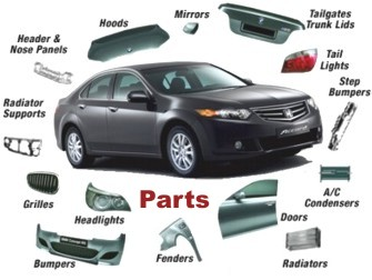 Salvage motor mechanics car parts accident damaged cars repairers