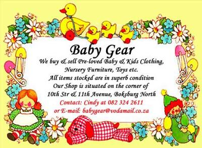Baby Stuff Cheap on Baby Gear