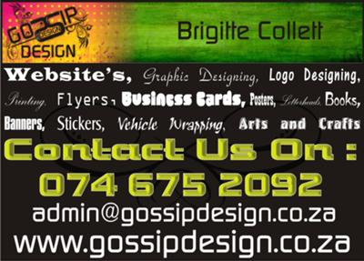 Gossip design gossip design is a creative design agency with extensive experience in website hosting and designing corporate branding graphic design printing reheart Choice Image