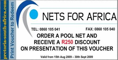 Nets for Africa Voucher