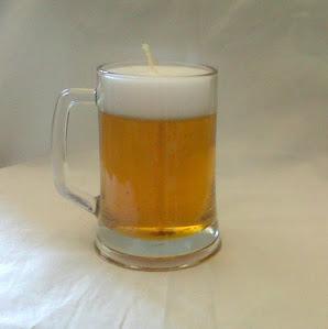 Beer Mug Candle