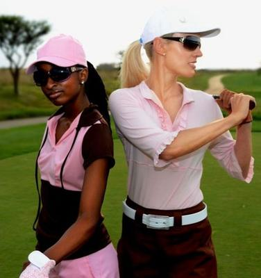 Ladies Golf Clothes & Accessories
