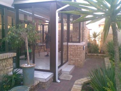 Aluminium Patio Enclosure