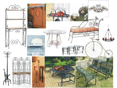 Decorative Artistic Wrought Iron Products