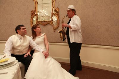 Wedding Saxophonist Friedel Knobel